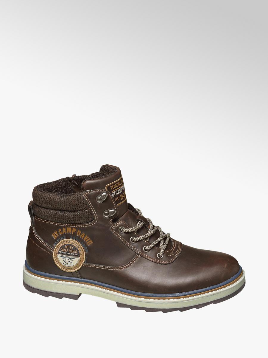 e7f67a6834 Kotníková obuv značky Venture by Camp David v barvě hnědá - deichmann.com