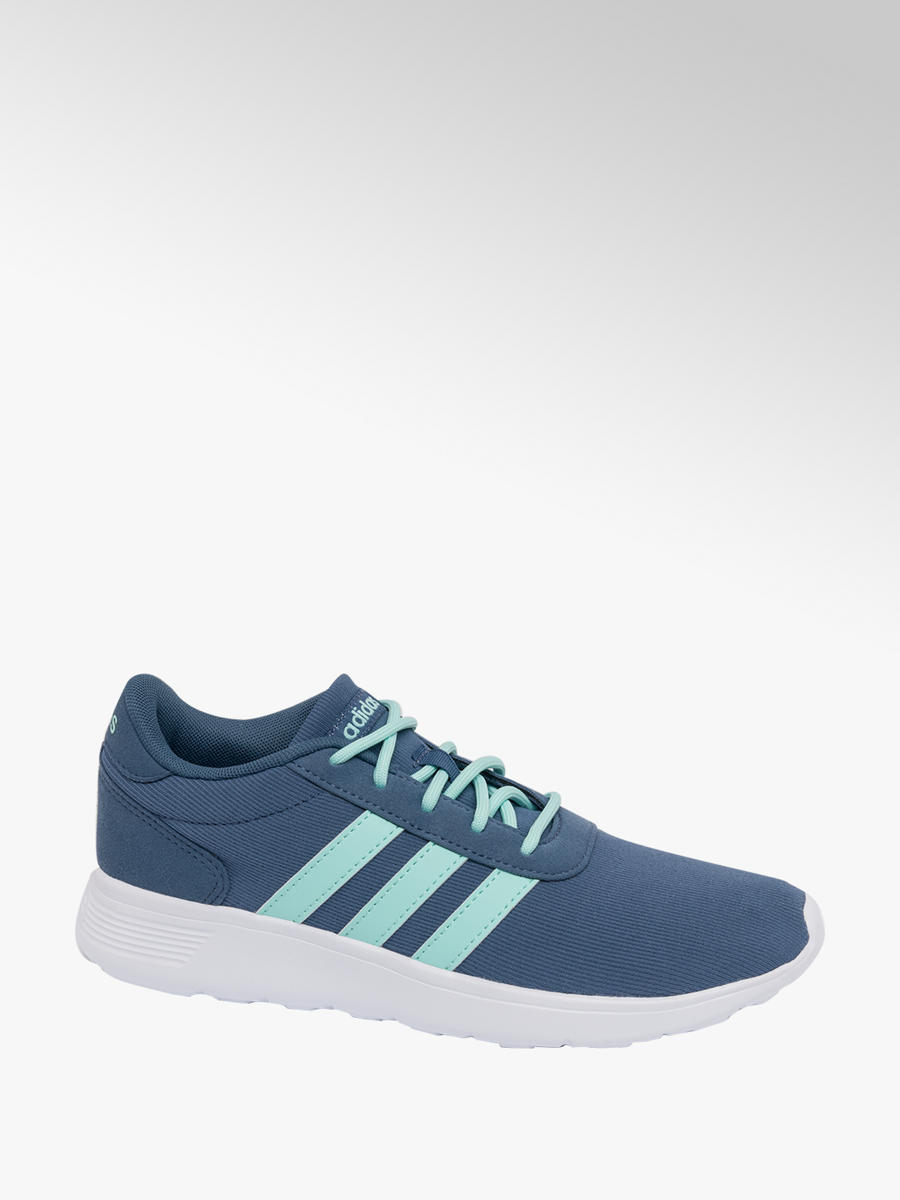 c8949cc872e Ladies Adidas Lite Racer Blue Lace-up Trainers | Deichmann