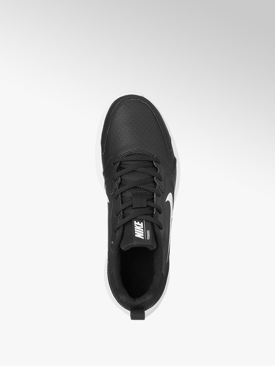 lowest price fashion many styles Ladies Nike Todos Trainers Black and White | Deichmann