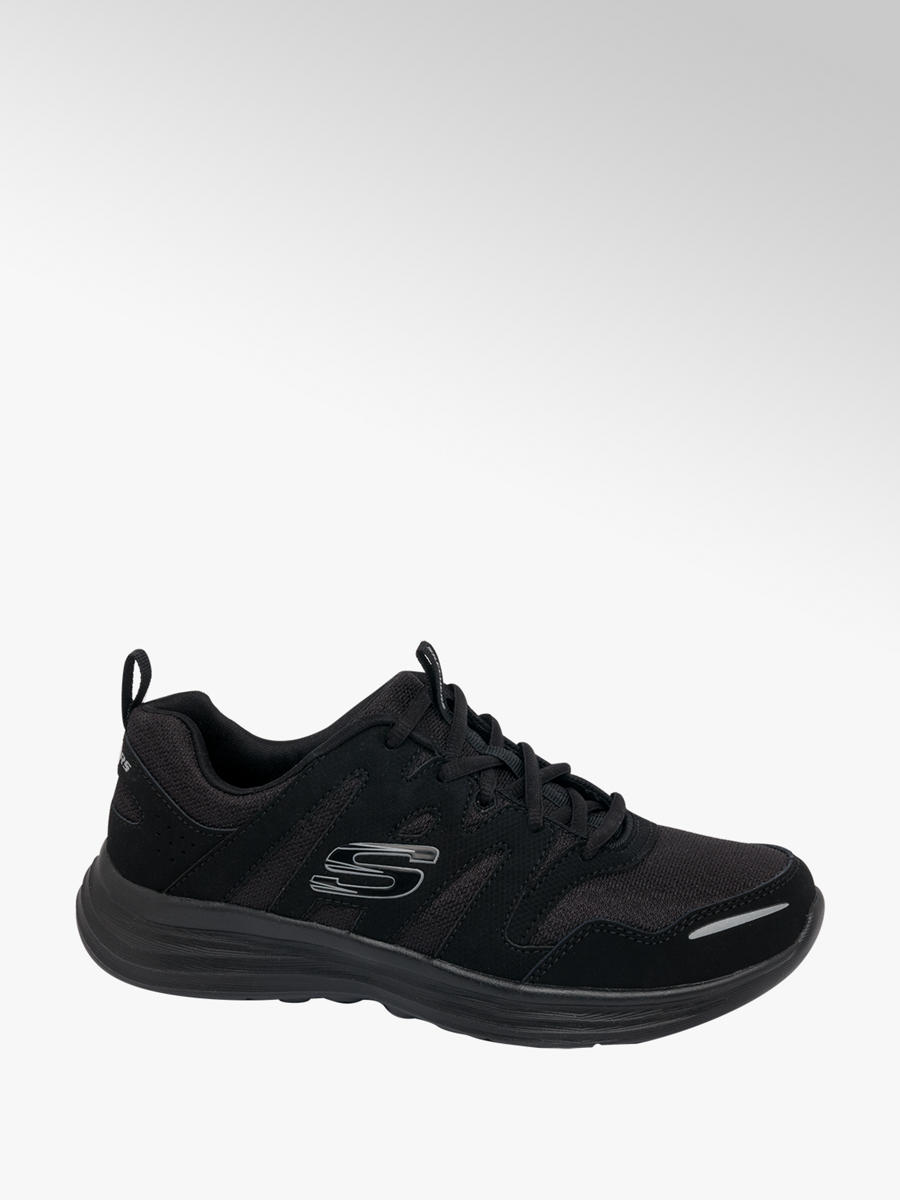 look for get new amazing selection Ladies Skechers Lace-up Trainers Black | Deichmann