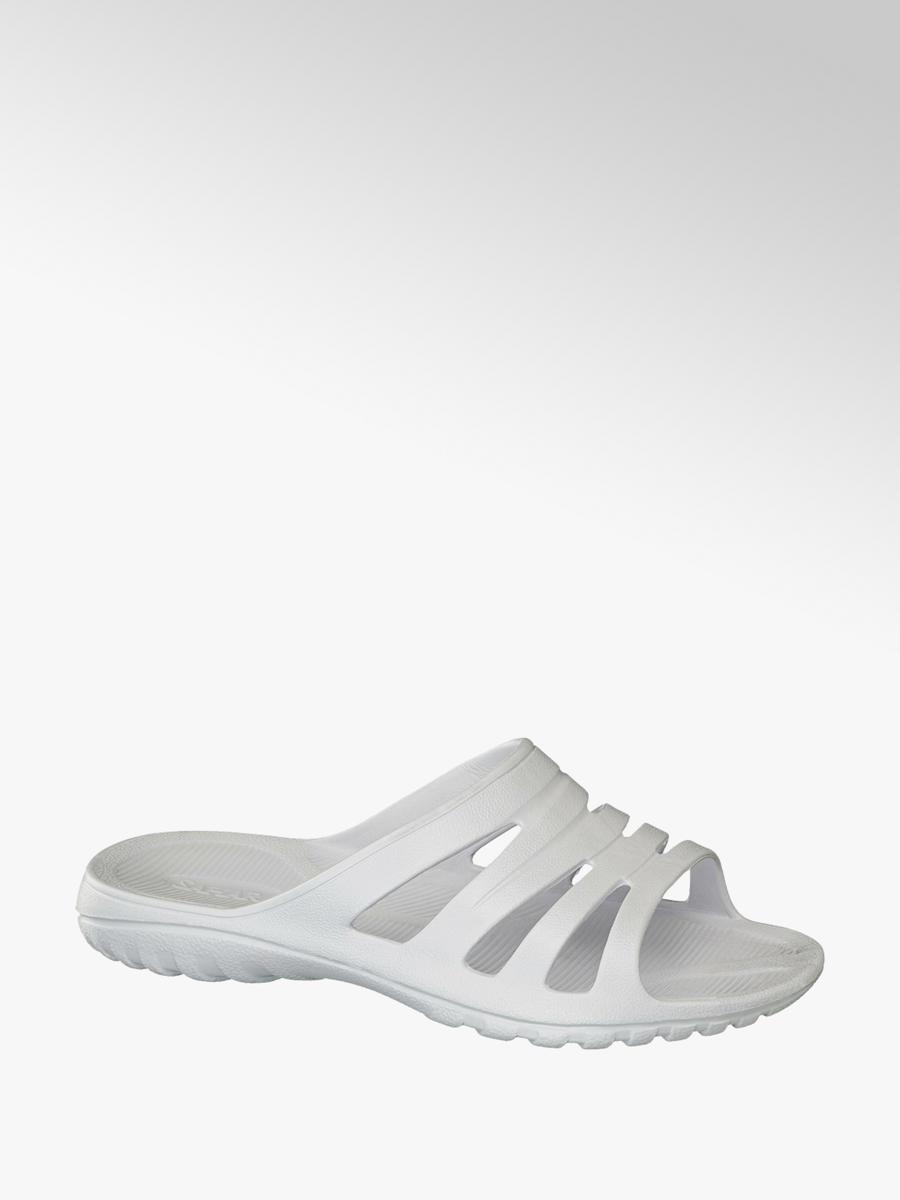 Ladies' white sandal   Deichmann