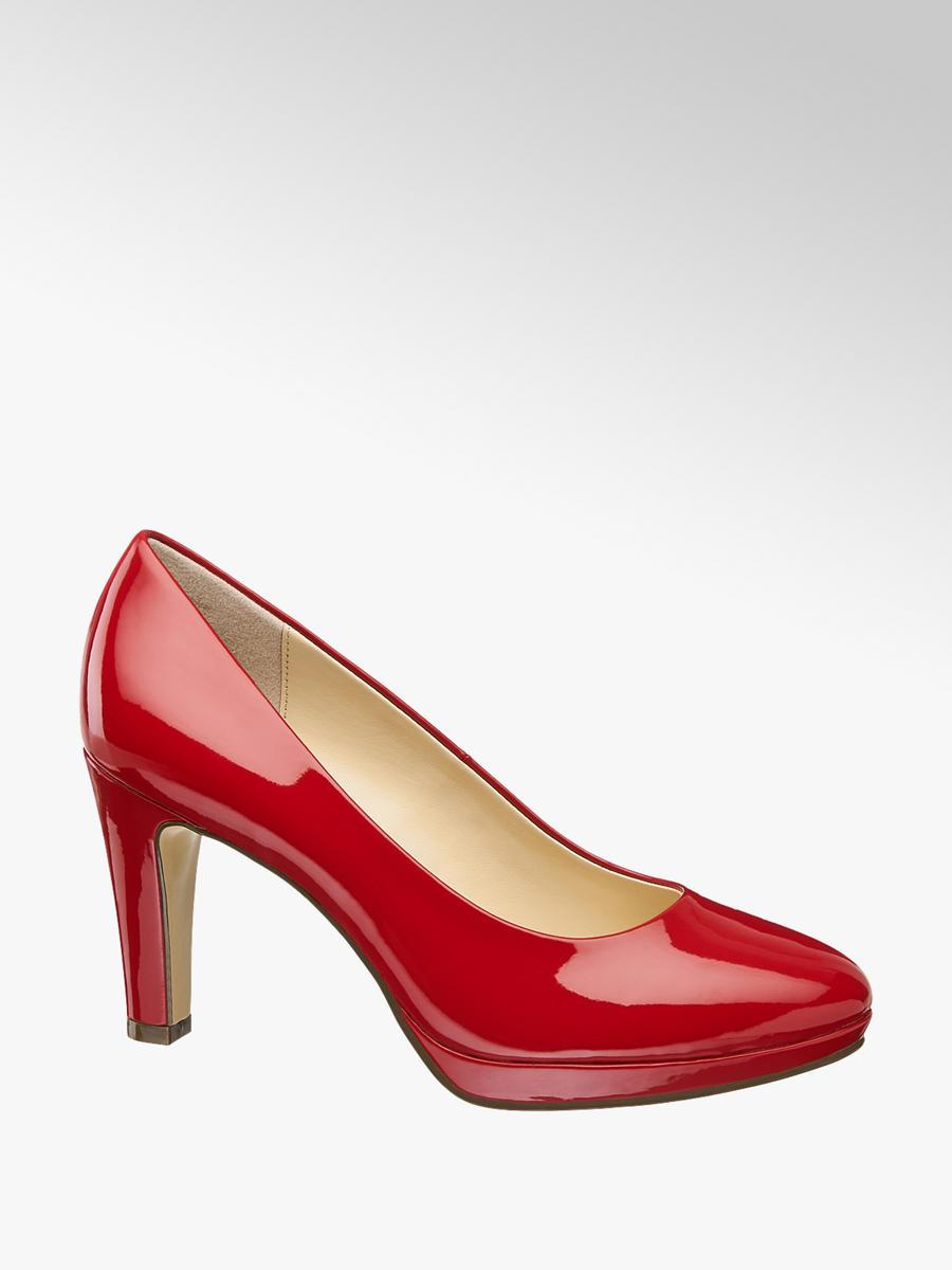 Lakované lodičky značky Graceland vo farbe červená - deichmann.com 5cbc28b416