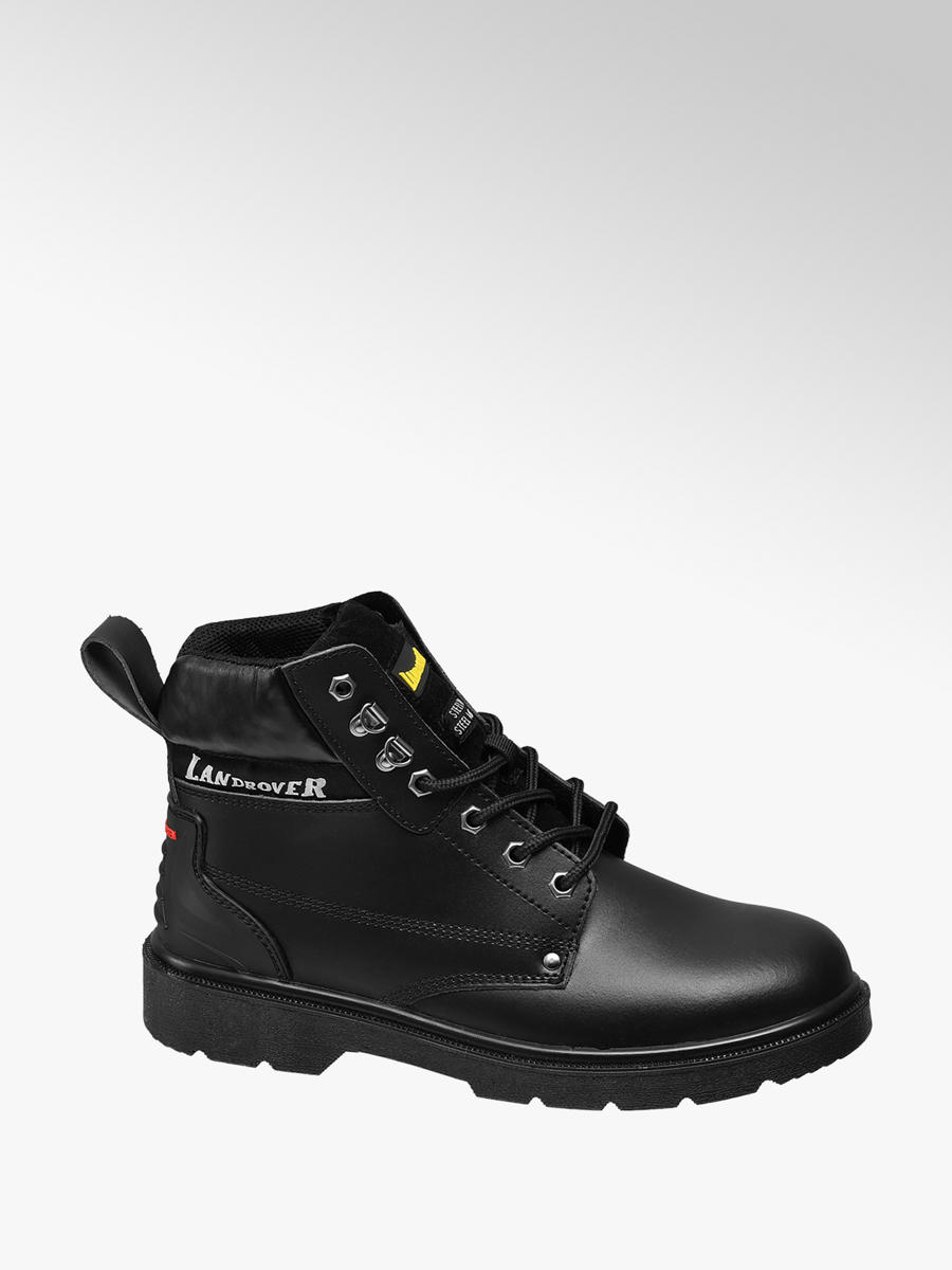 Landrover Ladies Black Safety Boots