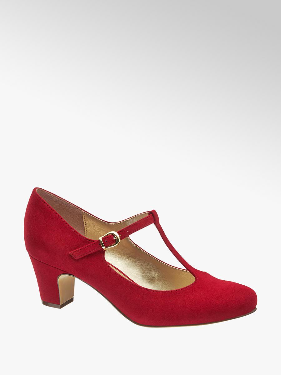Lodičky značky Graceland vo farbe červená - deichmann.com 32b4bc3faa