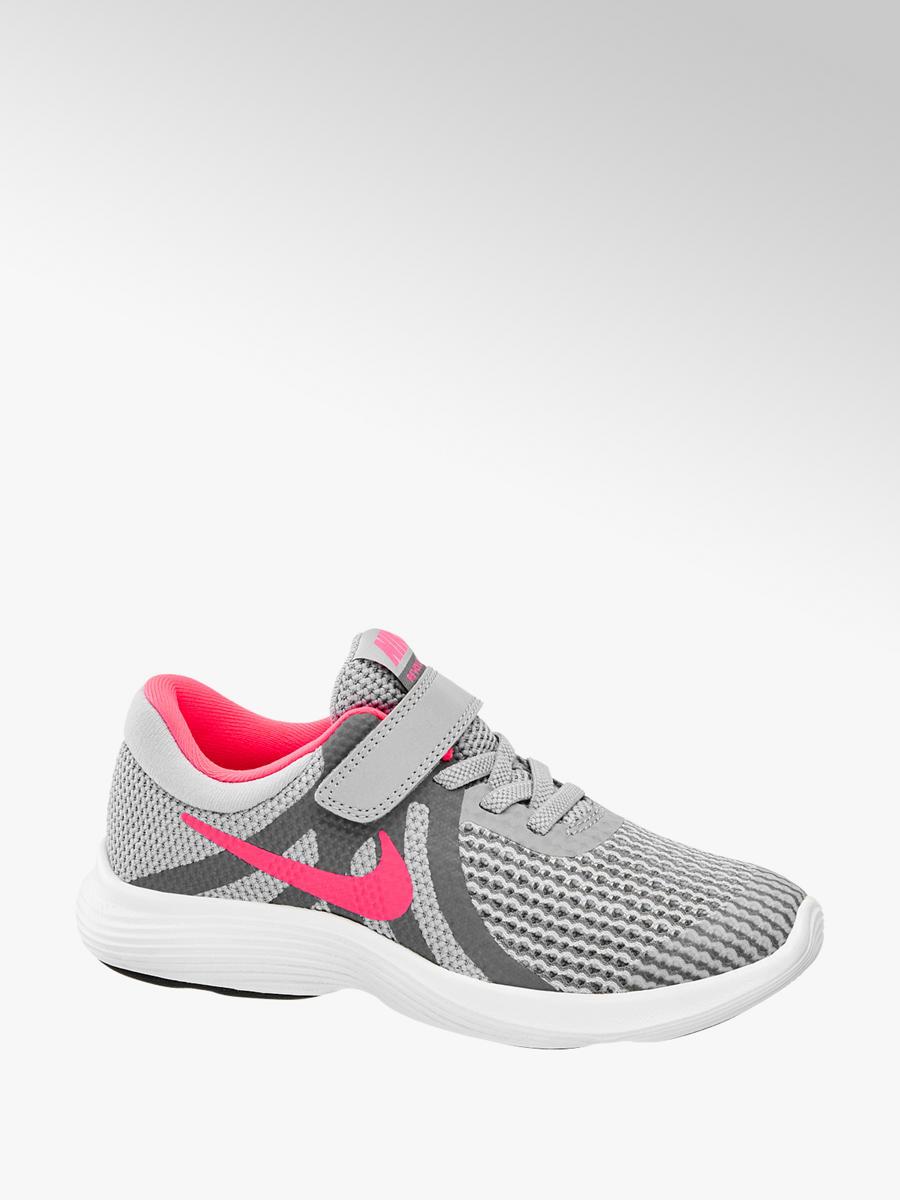 best service casual shoes shop best sellers Mädchen Klettschuhe REVOLUTION 4 von NIKE in grau ...