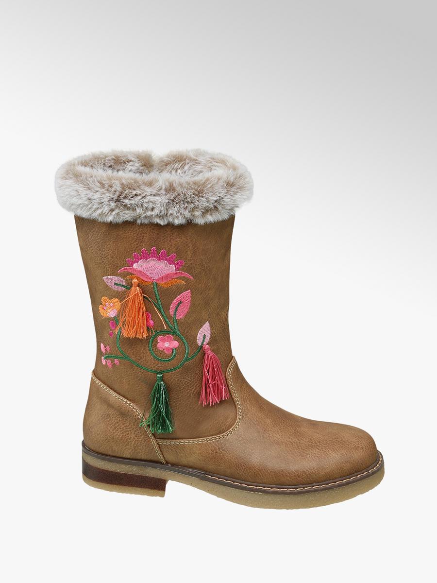 brand new c1617 8c425 Mädchen Stiefel in braun von Graceland günstig im Online ...