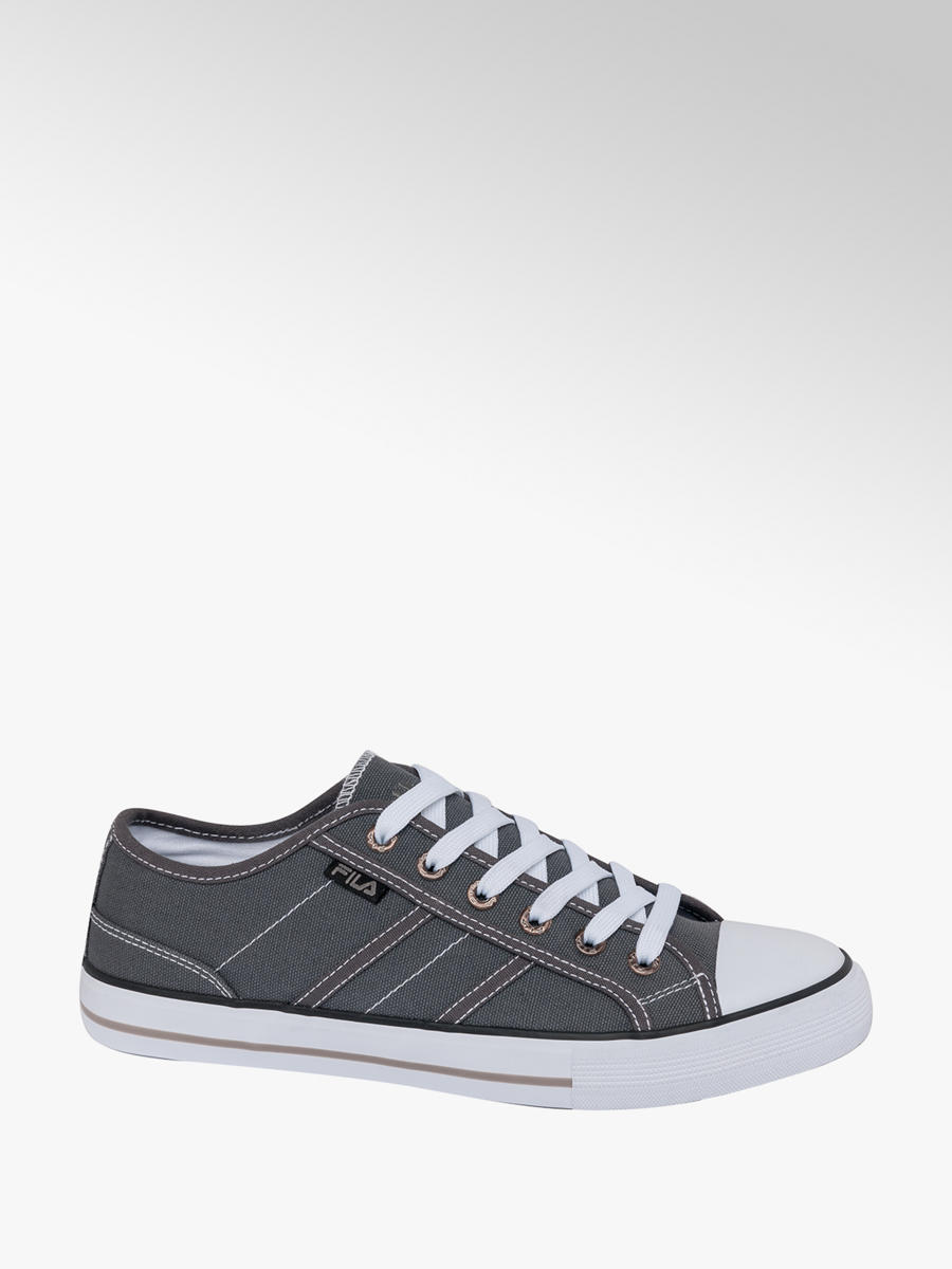 Men's Fila Lace up Canvas Shoes Grey | Deichmann