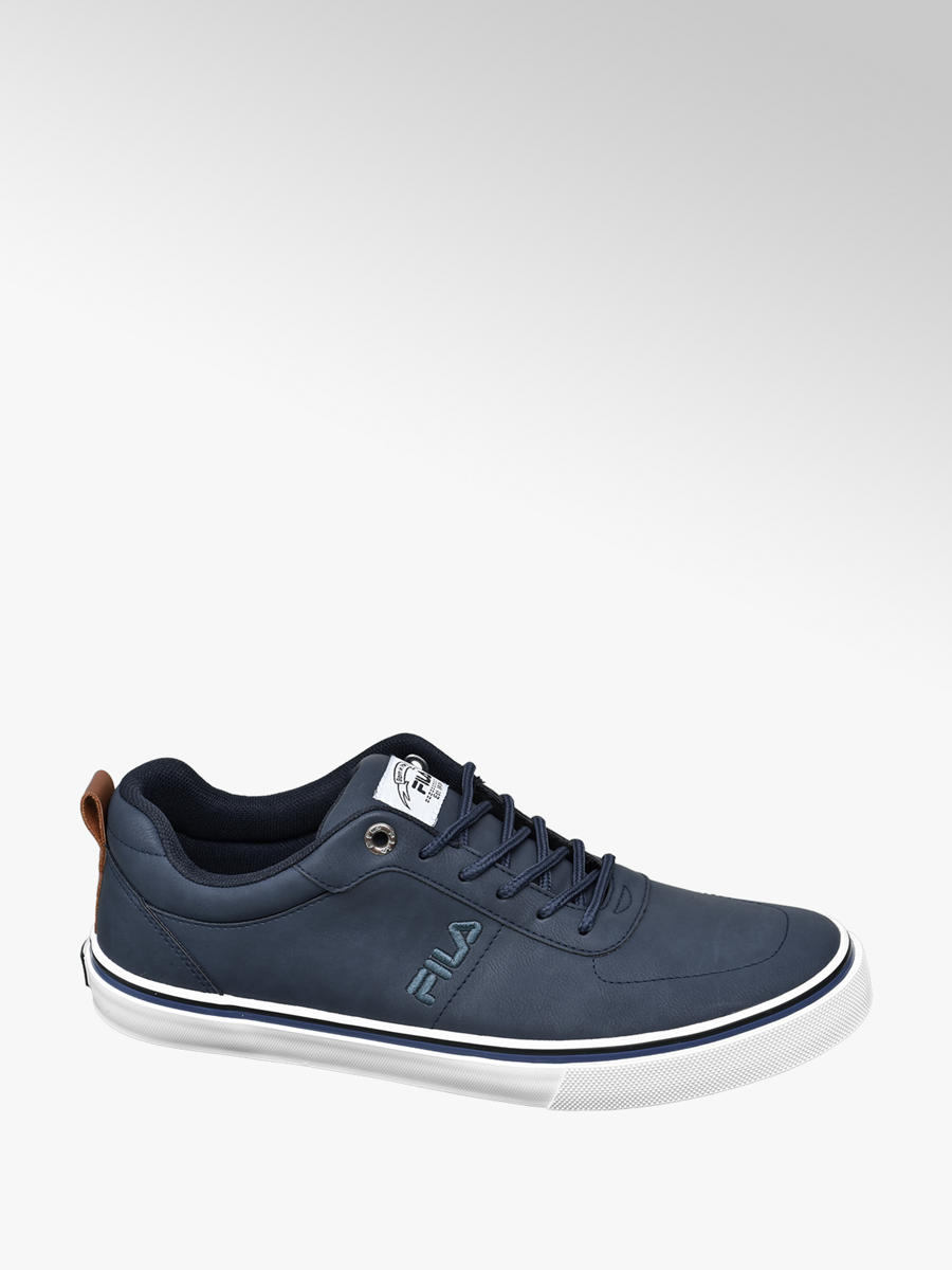 Men's Fila Navy Lace up Trainers | Deichmann