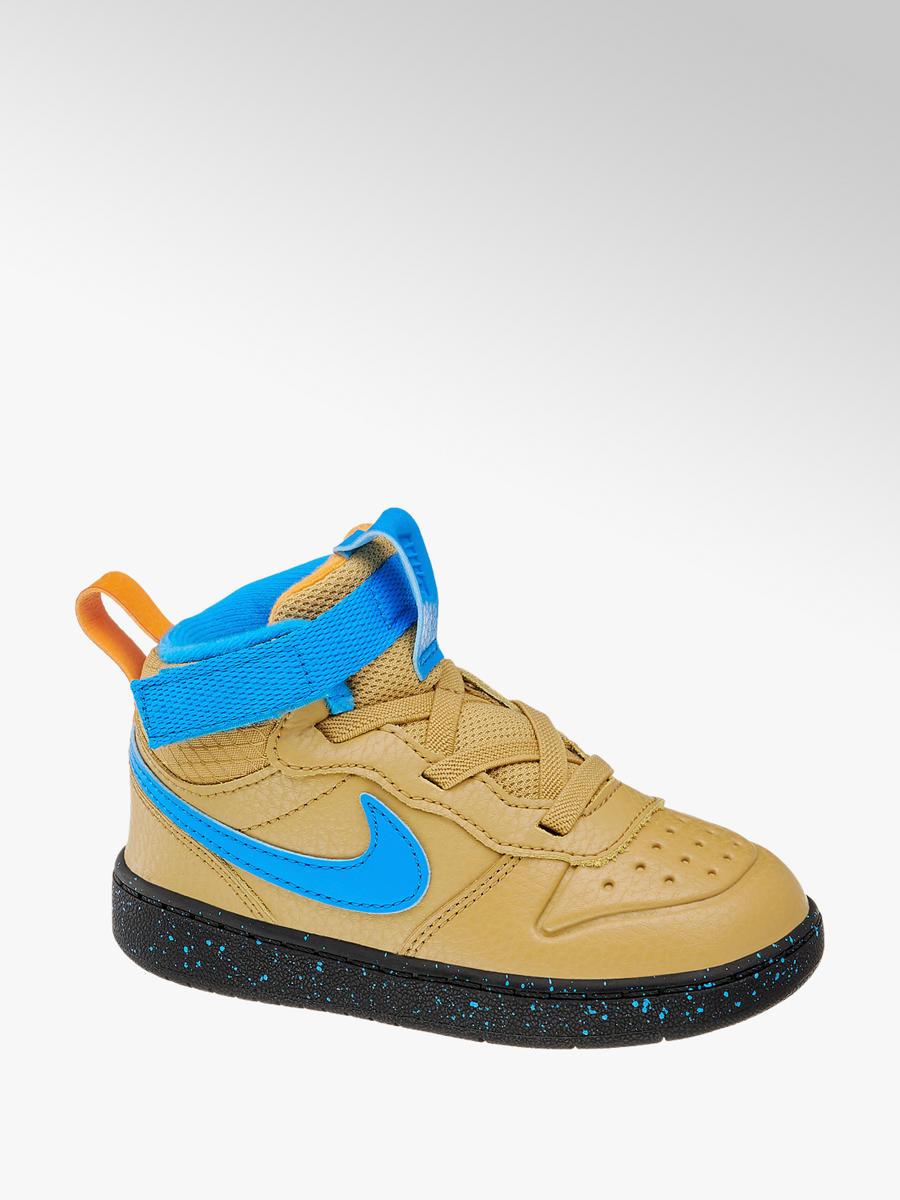 Mid Cut Court Borough Mid 2 von NIKE in blau DEICHMANN