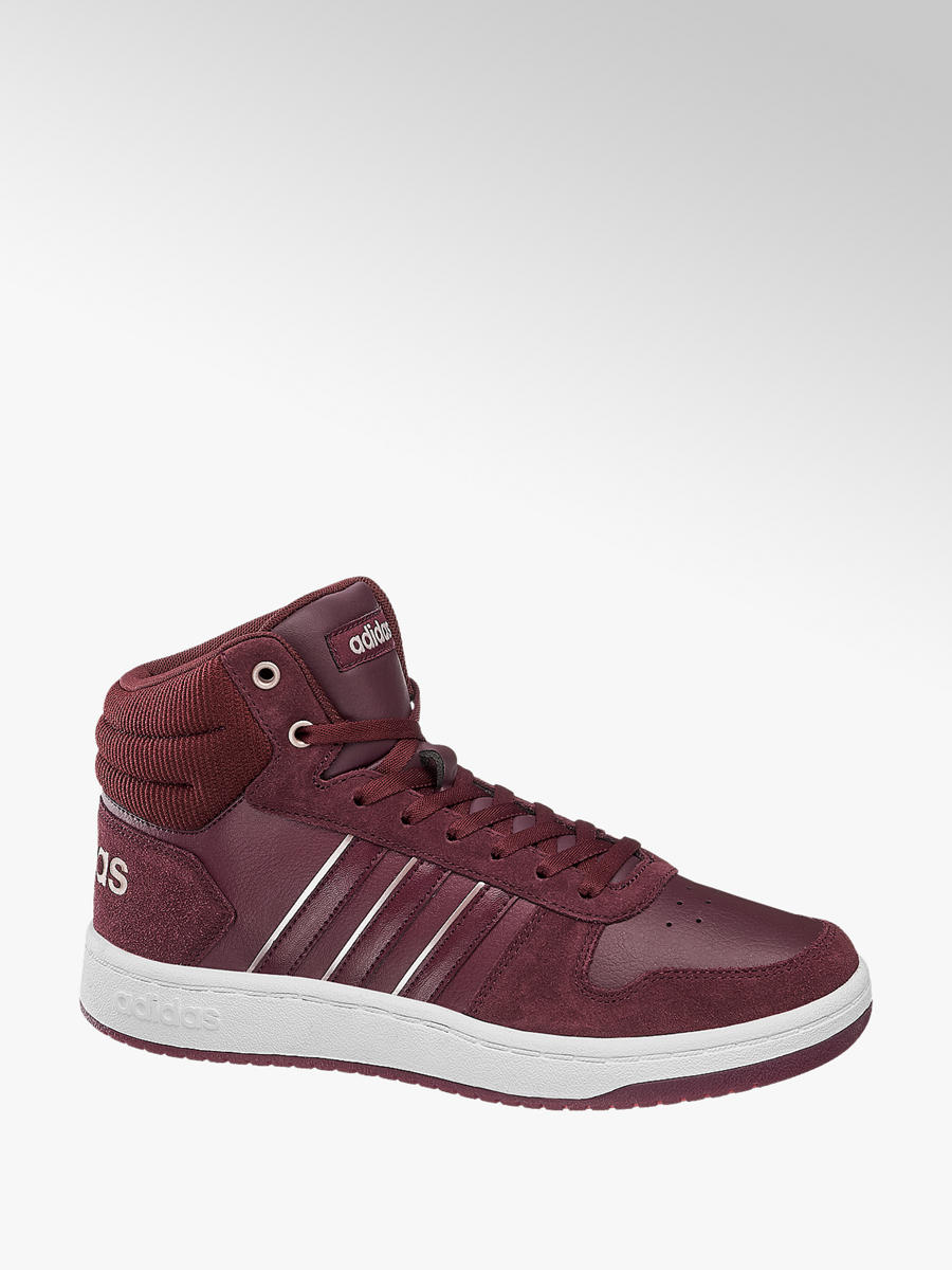 Mid Cut HOOPS MID 2.0 von adidas in bordeaux DEICHMANN