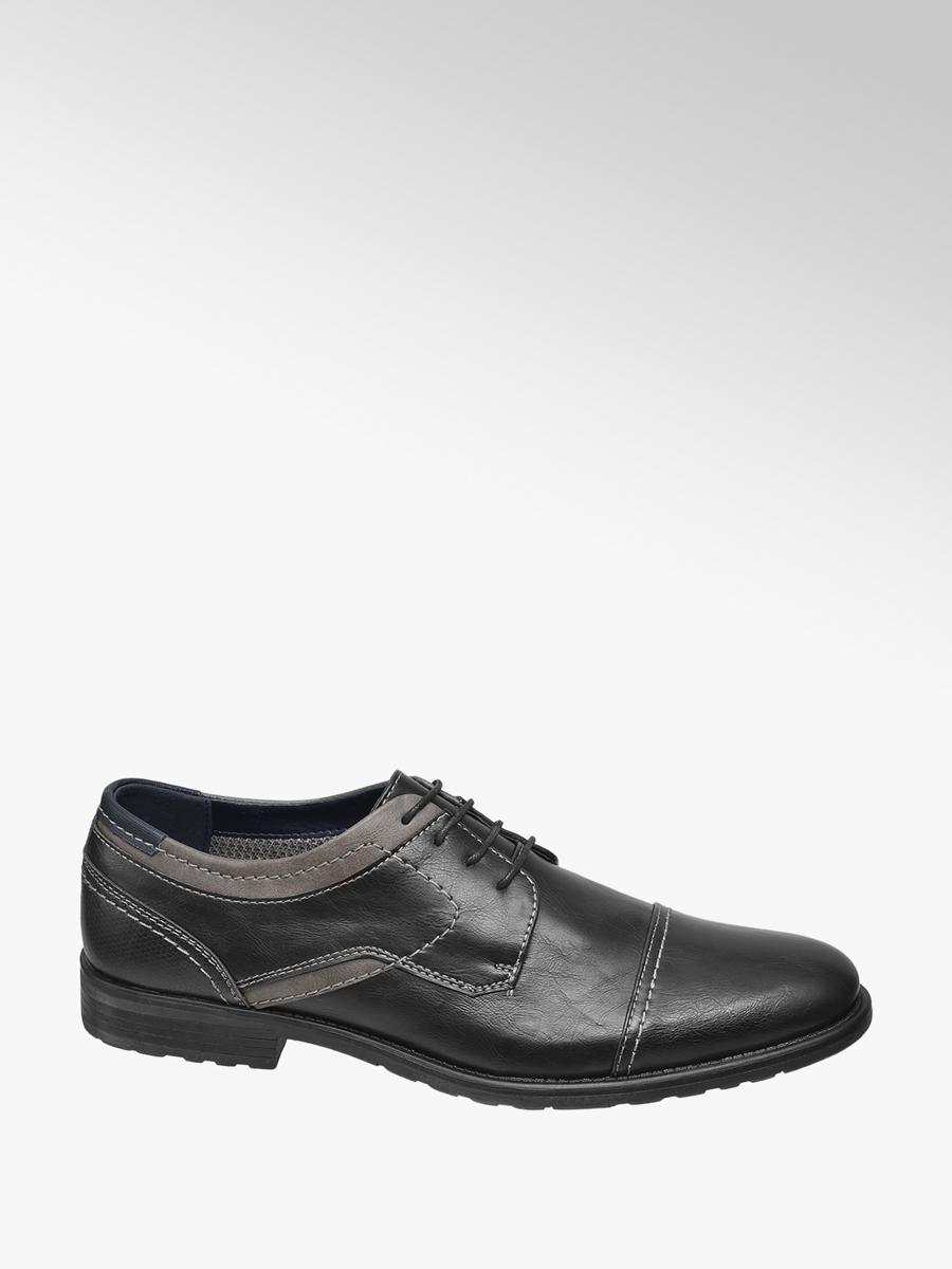 am besten billig Mode-Design jetzt kaufen Männer Business Schnürer von Venice in schwarz - deichmann.com