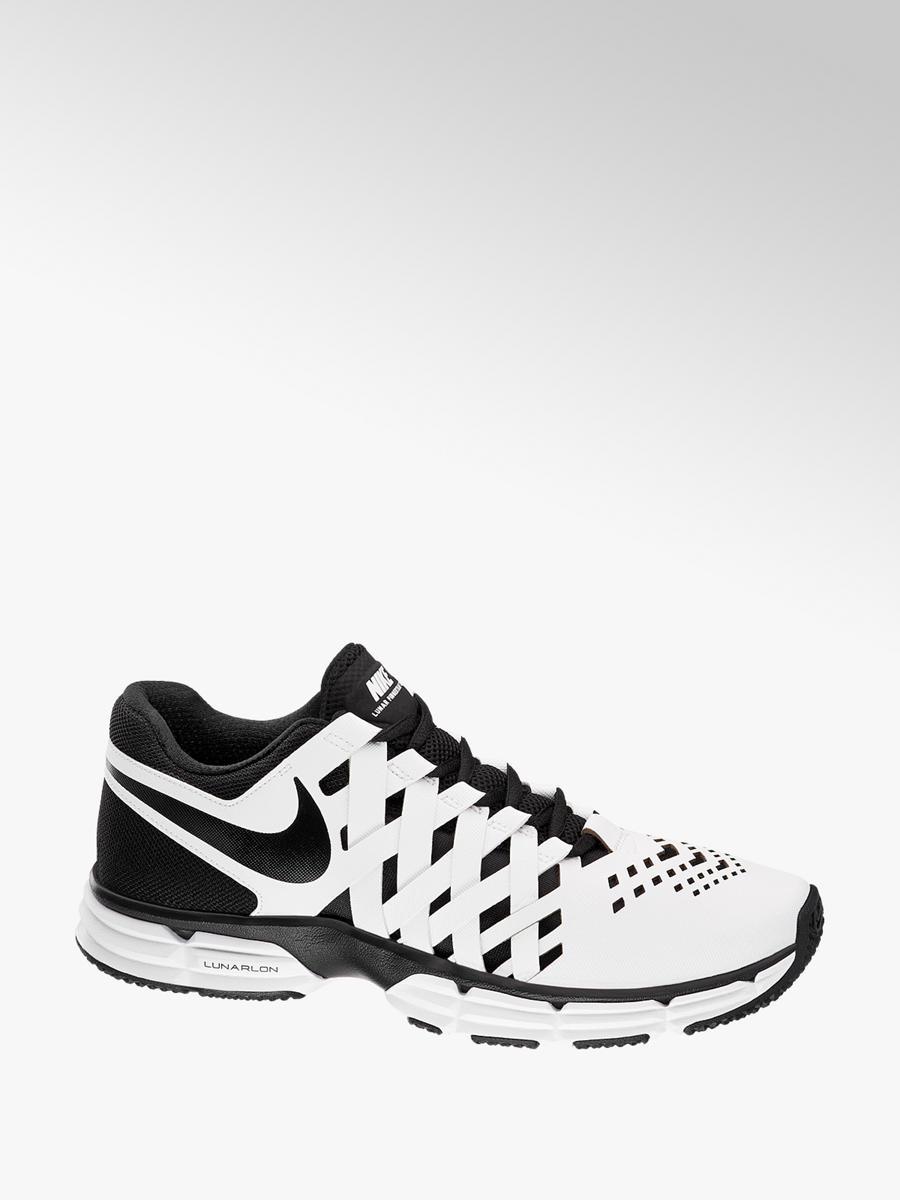 promo codes best supplier for whole family Männer Sneakers LUNAR FINGERTRAP TR von NIKE in weiß-schwarz ...