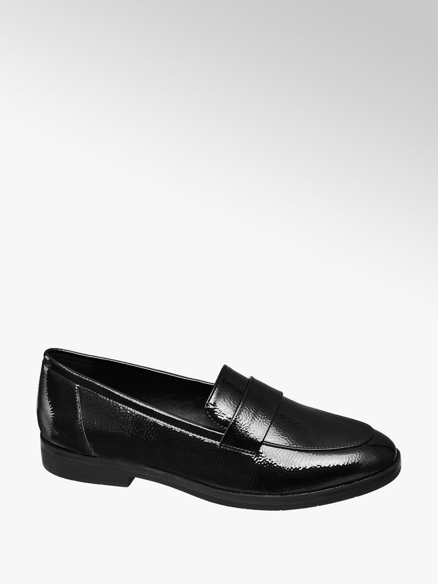 prezzo di fabbrica scarpe eleganti abbigliamento sportivo ad alte prestazioni Mocassino in vernice nera da donna | Deichmann