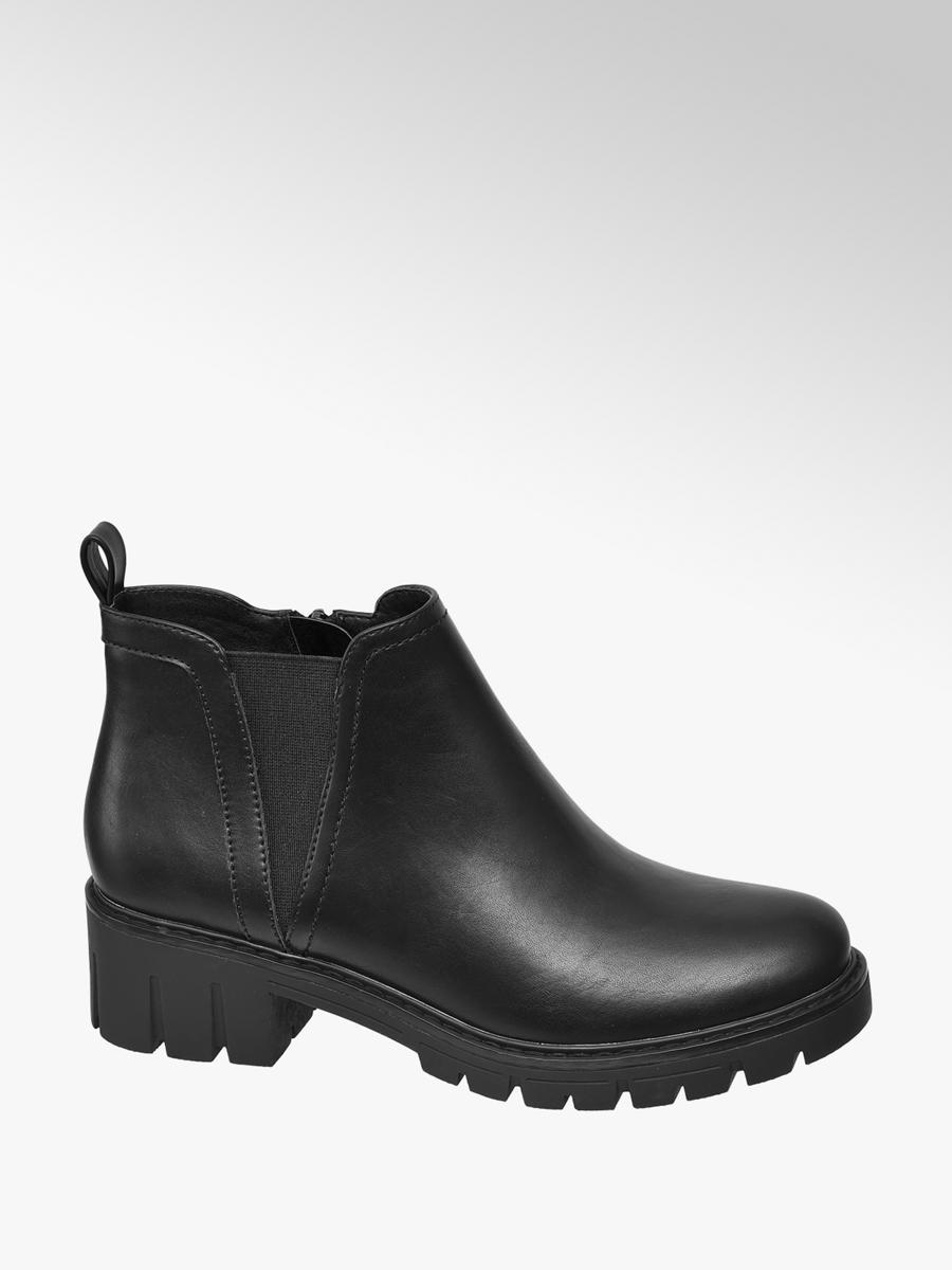 2018 cipő online outlet kiváló minőségű Női bokacsizma fekete színben | Graceland | DEICHMANN