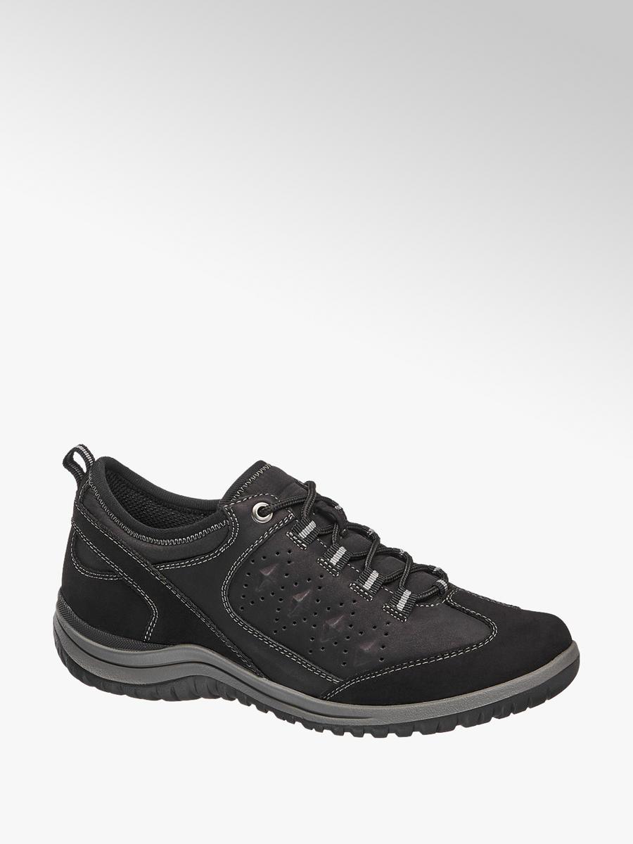 Női fekete kényelmi cipő - Easy Street  228955bc44