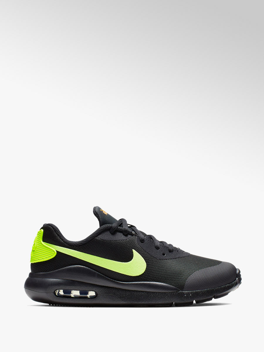 a5ca951592b11 Nike Air Max Lace Up Trainers Black Lime | Deichmann