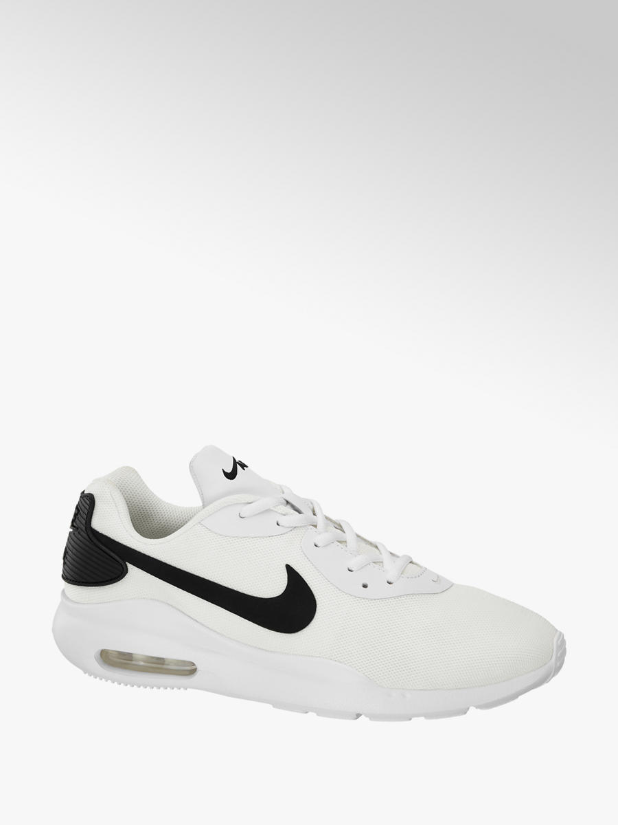 order top brands uk store Nike Air Max Men's Lace Up Trainers White Black | Deichmann