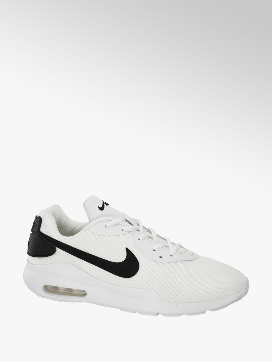 best website 5e9a7 db456 NIKE Mens Nike White  Black Air Max Oketo Trainers