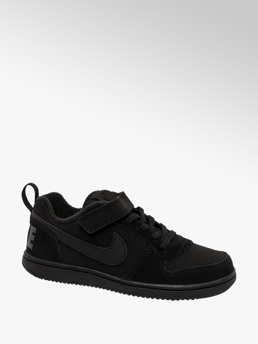 cheaper d743b 69b22 Nike Court Borough Junior Black Trainers | Deichmann