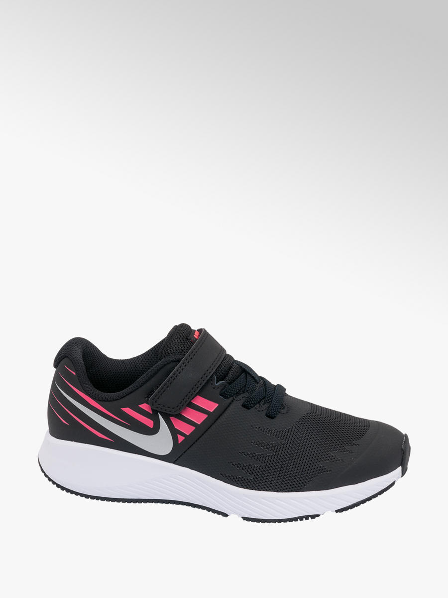 2e6a6eb49c Nike Junior Girls Star Runner Trainers Pink and Black | Deichmann