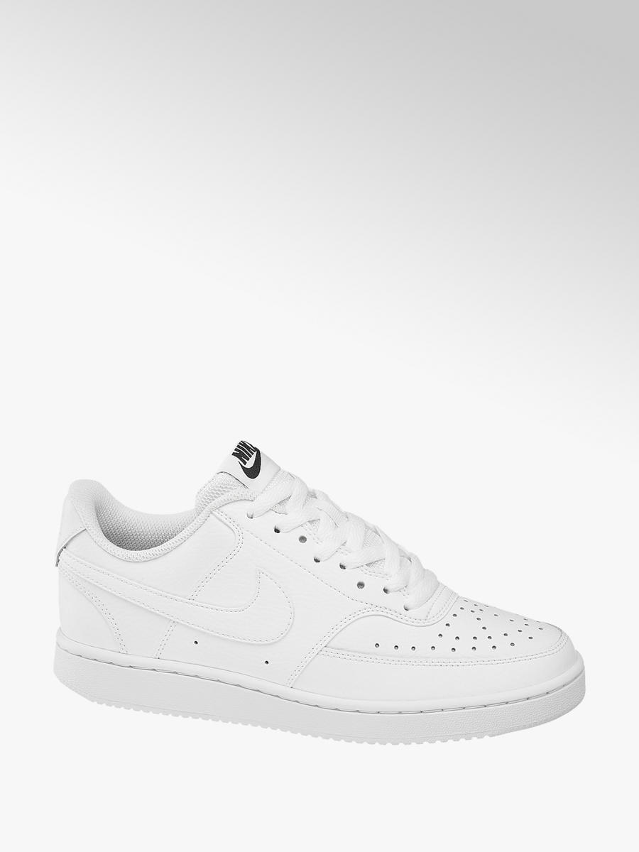Court Vision Lace-up Trainers White