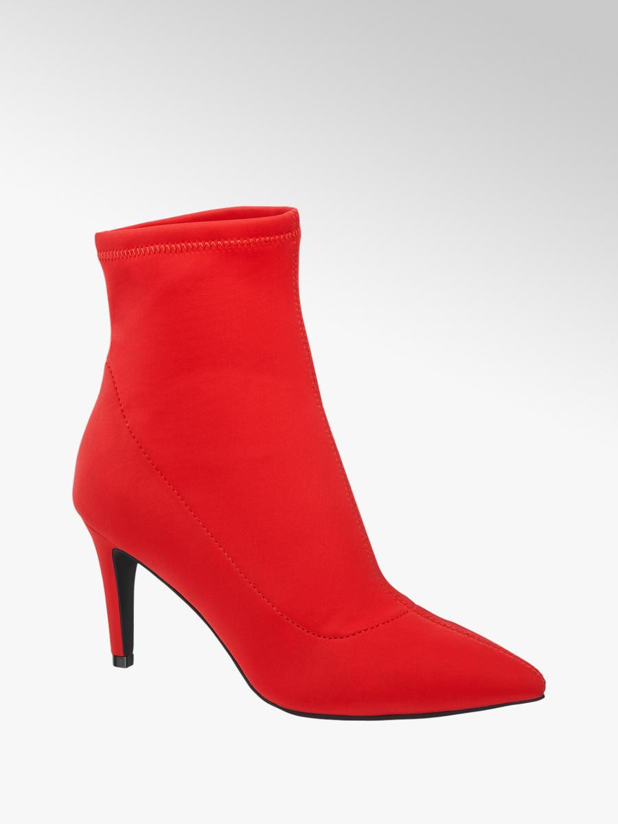 Nízke čižmy značky Graceland vo farbe červená - deichmann.com 852568a94bd