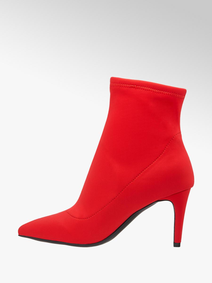 Nízke čižmy značky Graceland vo farbe červená - deichmann.com d21a8d444d6