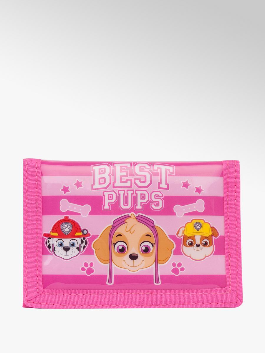 Paw Patrol Junior Wallet Pink   Deichmann