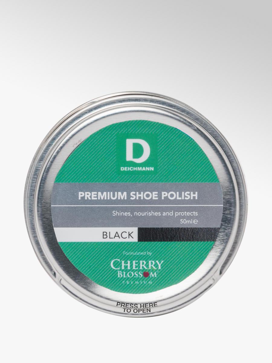 Premium Black Shoe Polish   Deichmann
