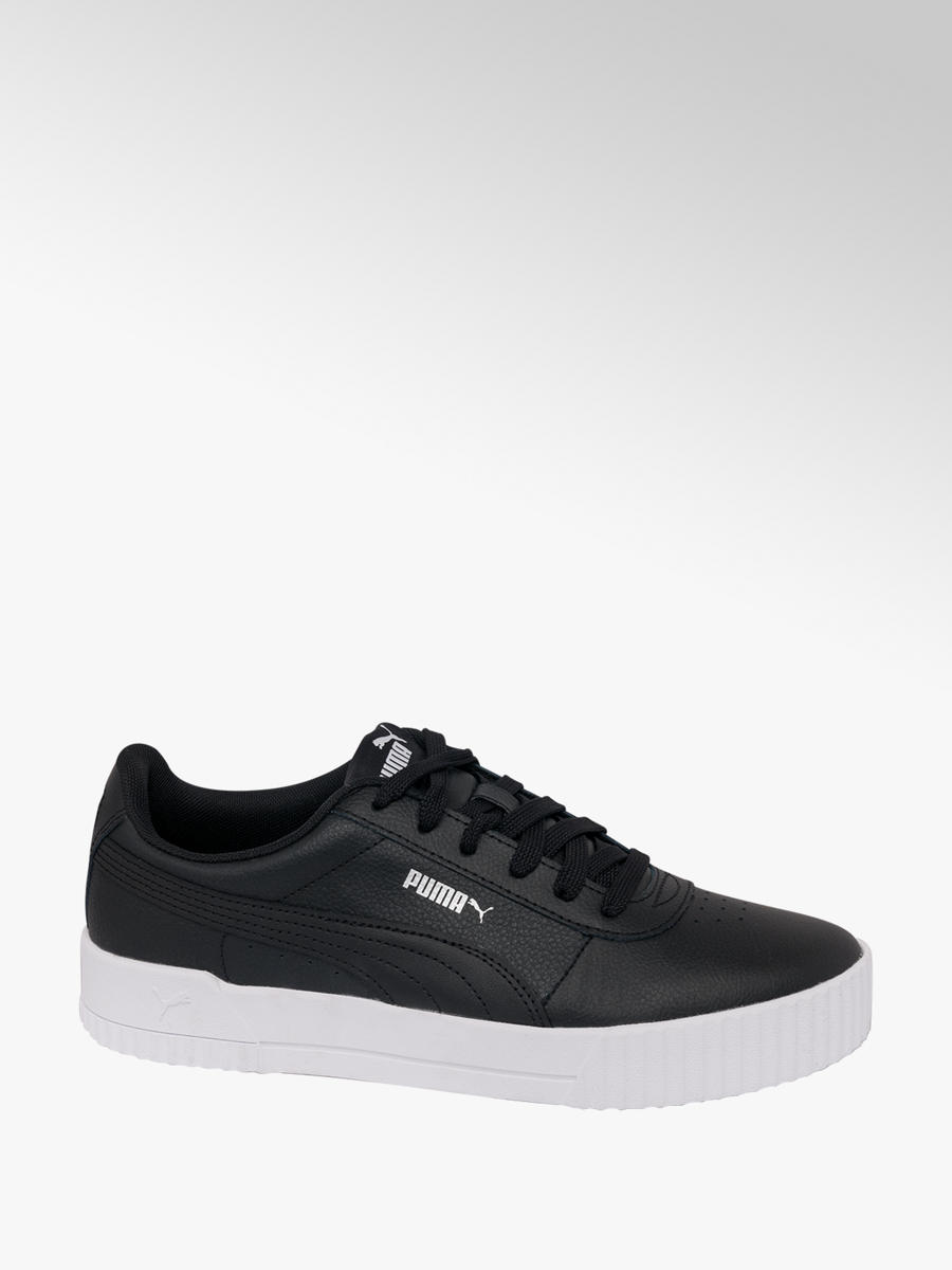cozy fresh world-wide selection of high quality materials Puma Carina Ladies' Lace-up Trainers in Black | Deichmann