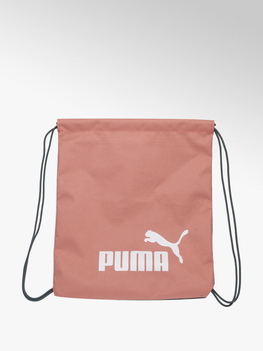3a66f97c87af2 Puma Drawstring Gym Sack in Pink
