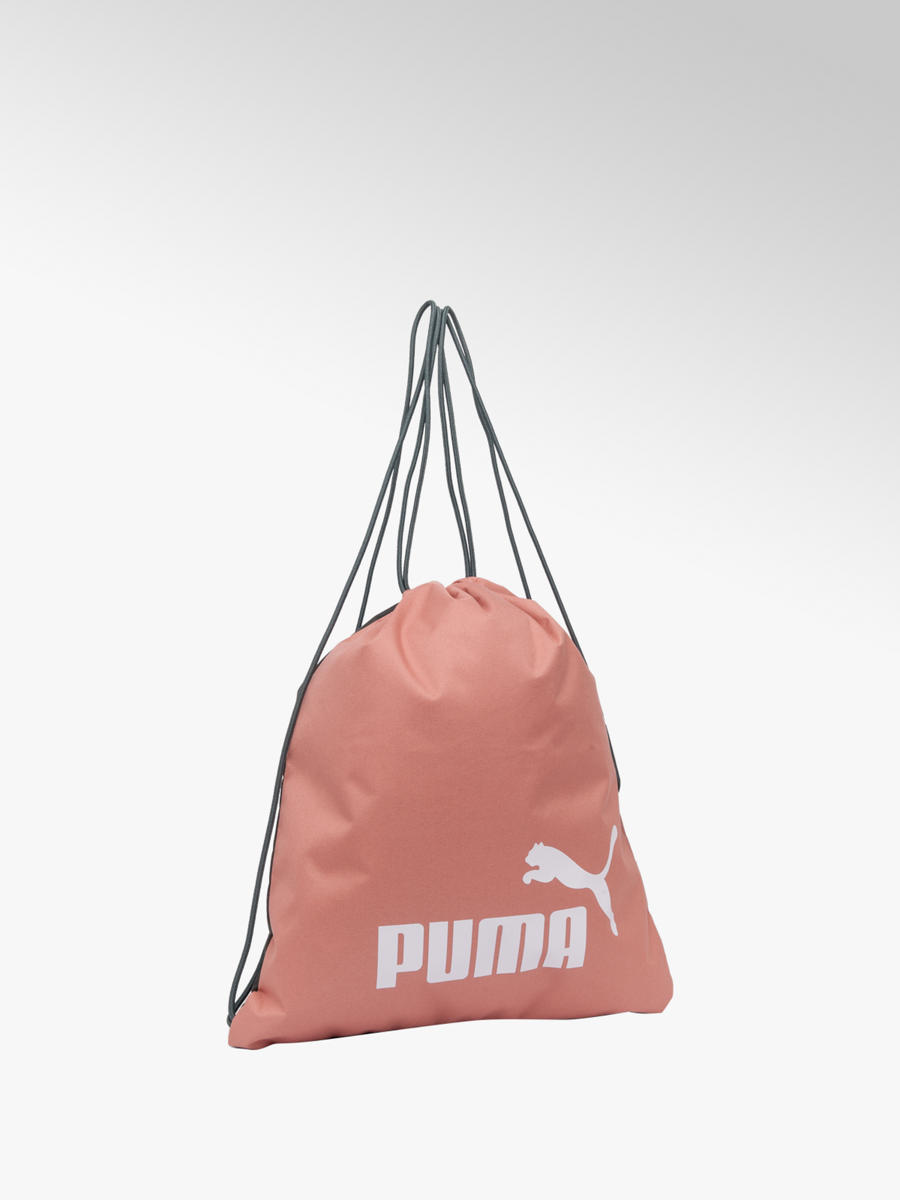 003526affc Puma Drawstring Gym Sack in Pink