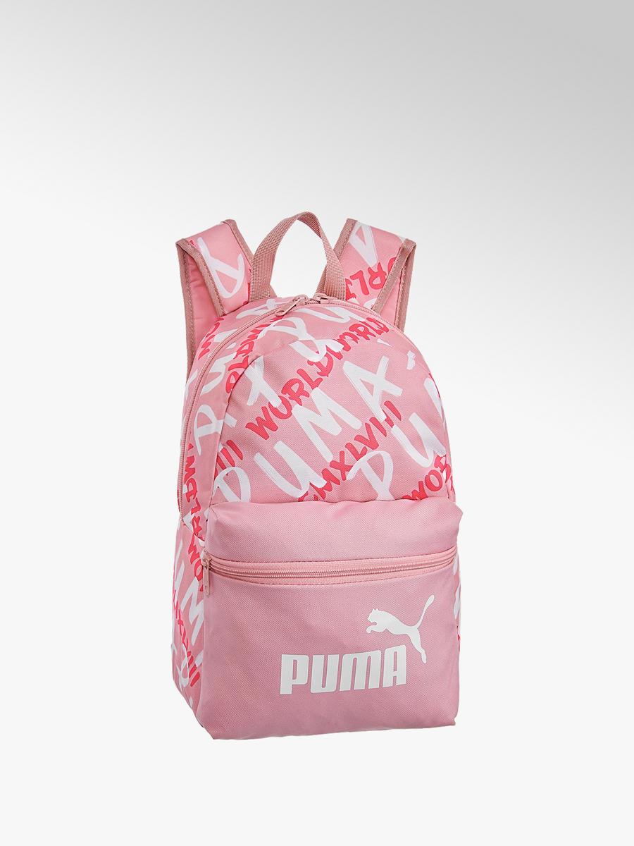 wyprzedaż hurtowa super tanie oficjalne zdjęcia Różowy plecak dziecięce Puma Phase Small - 41301016 ...