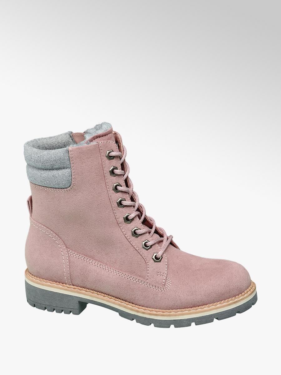 b3499aa837 Rózsaszín női bakancs - Landrover | DEICHMANN