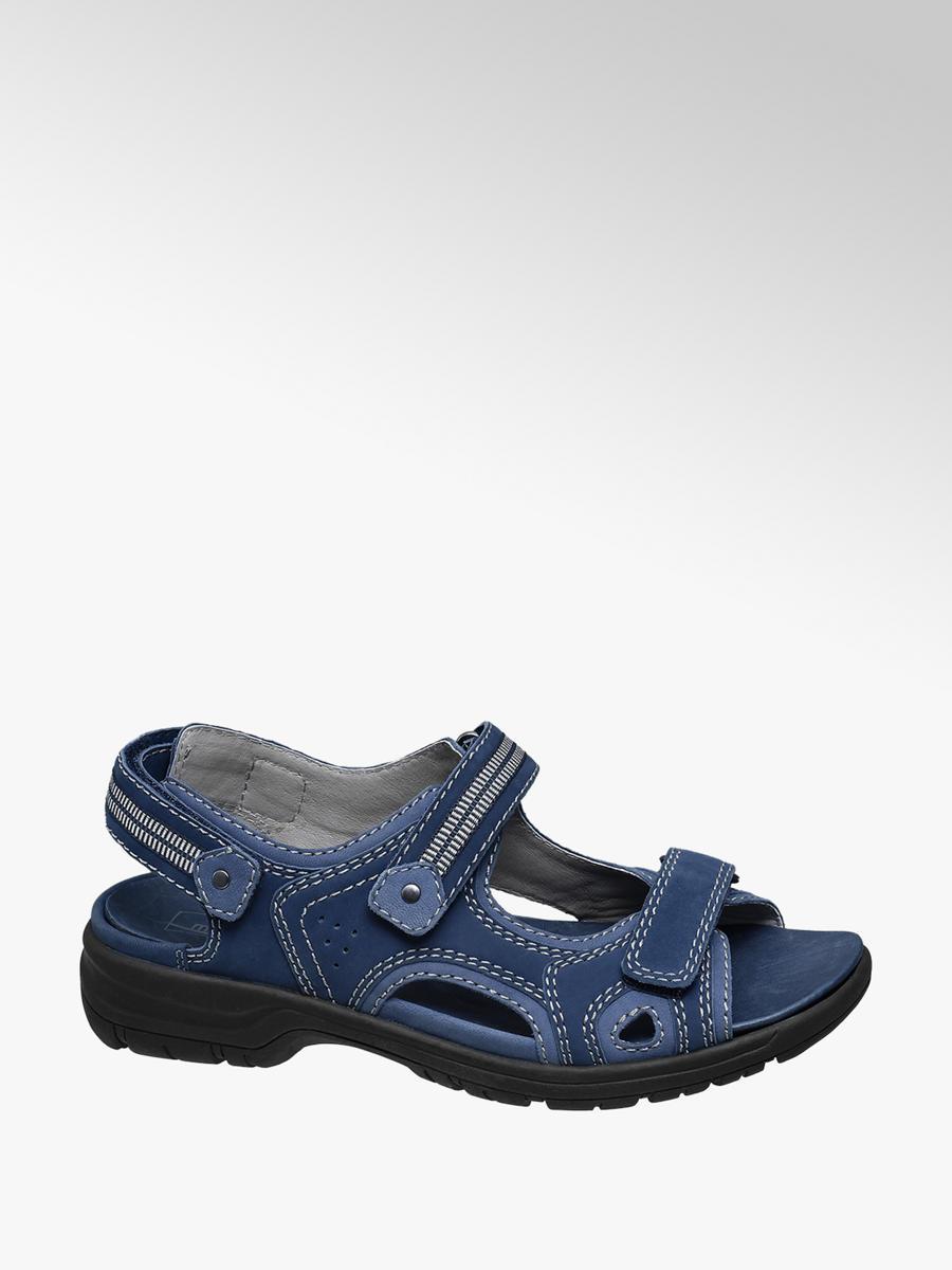 detailed look 7b4cb 57c48 Sandale, Weite H von Medicus in blau - DEICHMANN