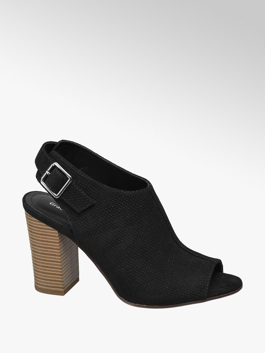 cb826e1bddc7 Sandále na blokovom podpätku značky Graceland vo farbe čierna -  deichmann.com