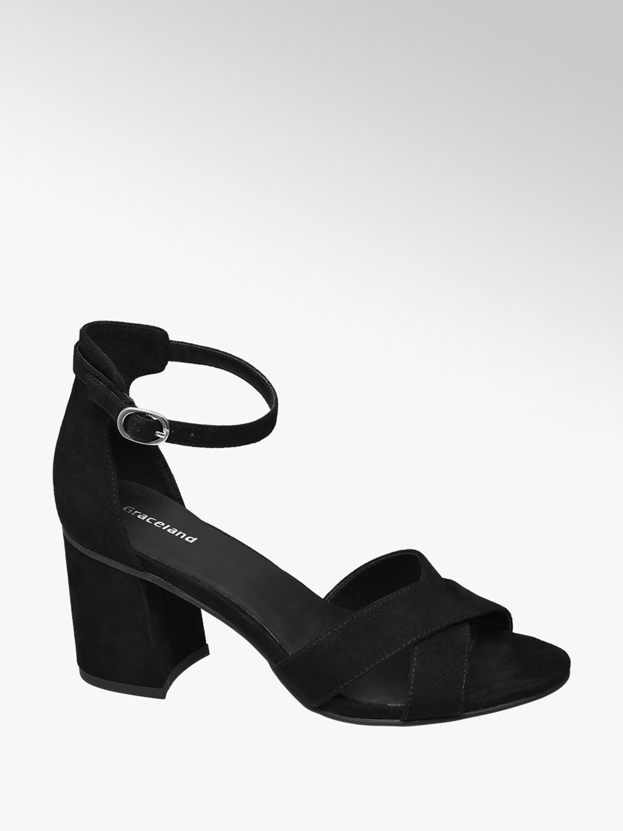 b0c19e4c0226d Sandále značky Graceland vo farbe čierna - deichmann.com