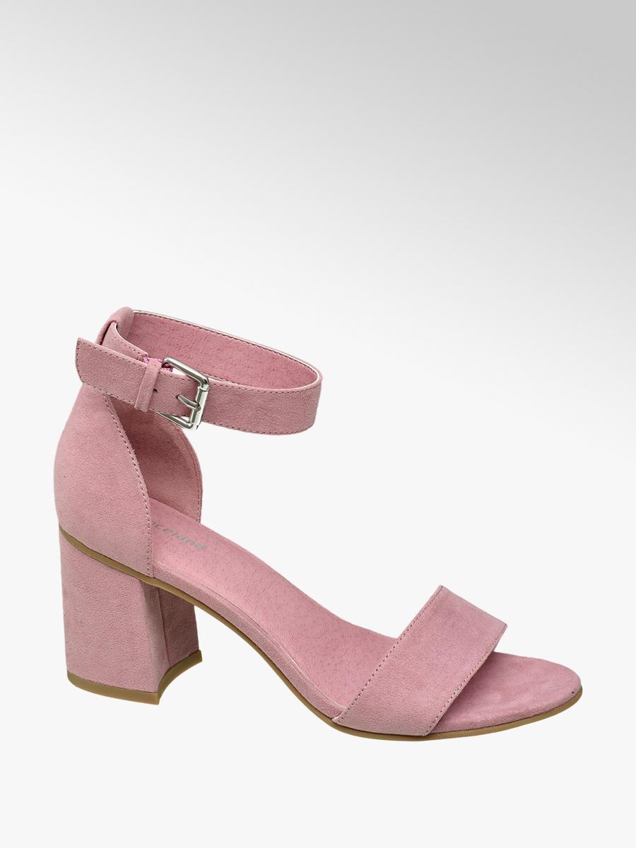 d312c9f1f75 Sandály na podpatku značky Graceland v barvě růžová - deichmanAn.com