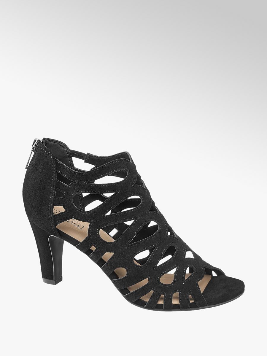 89e242d09836 Semišové sandále značky 5th Avenue vo farbe čierna - deichmann.com