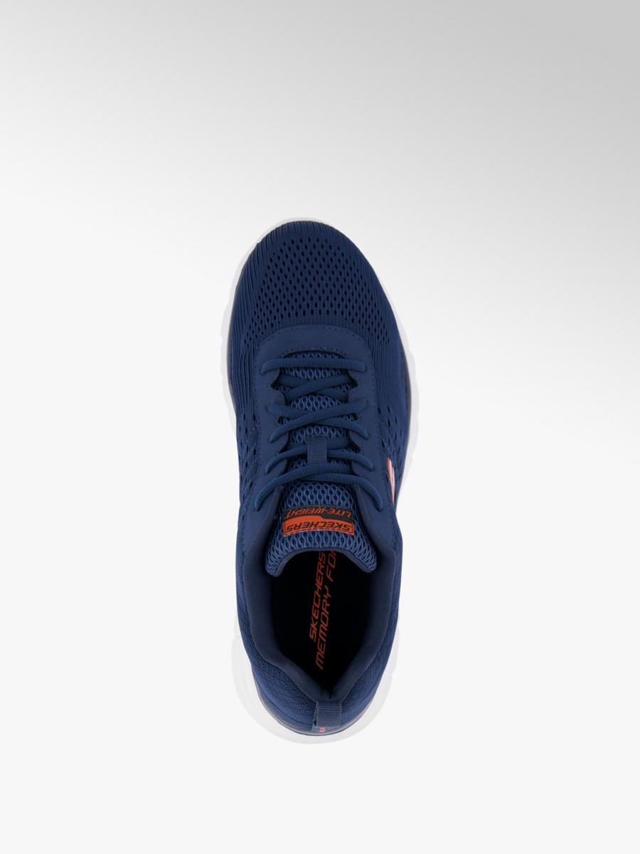 Skechers Men's Lace-up Trainers Dark Blue