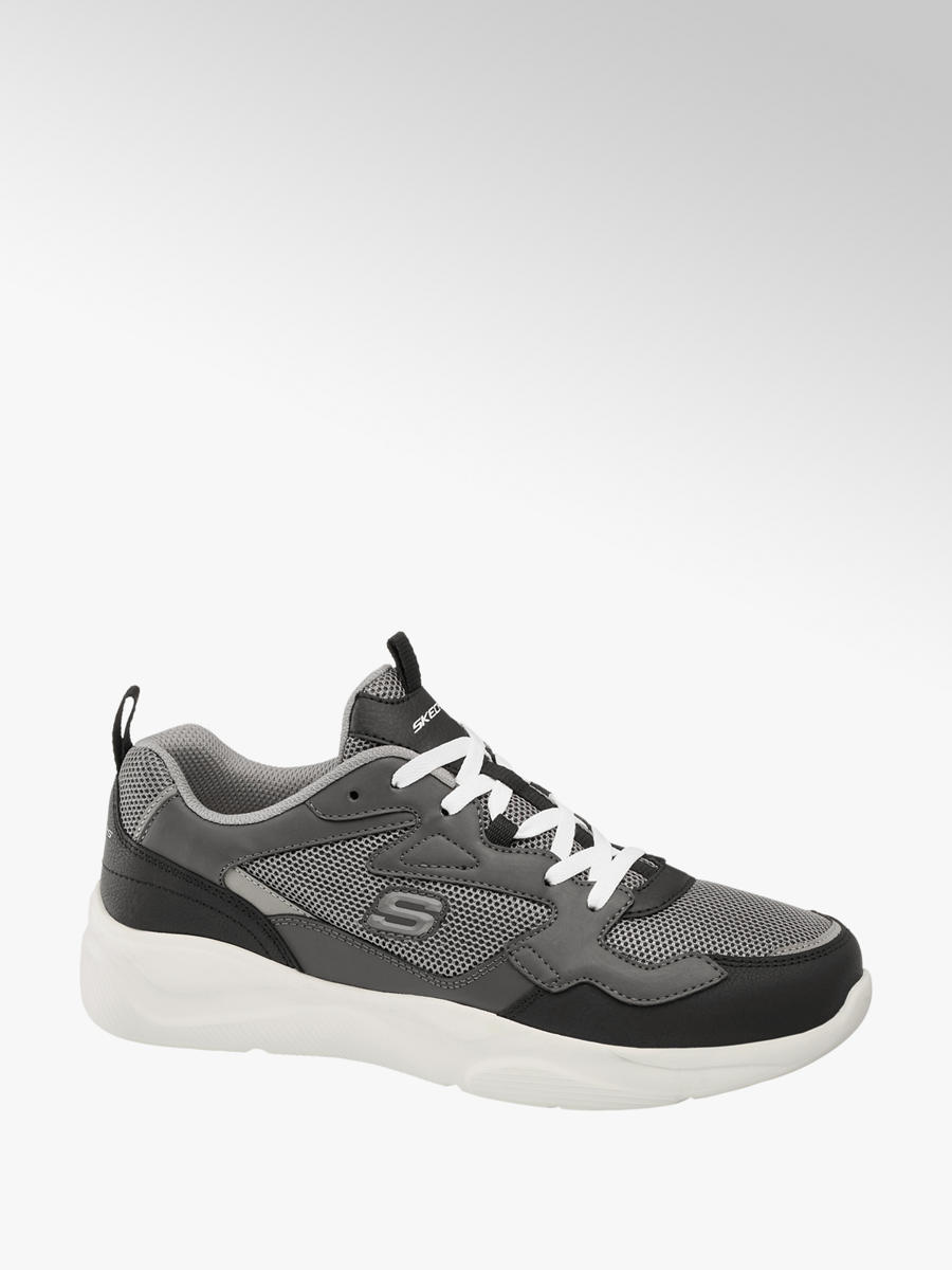 Meridian Lace-up Trainers Grey