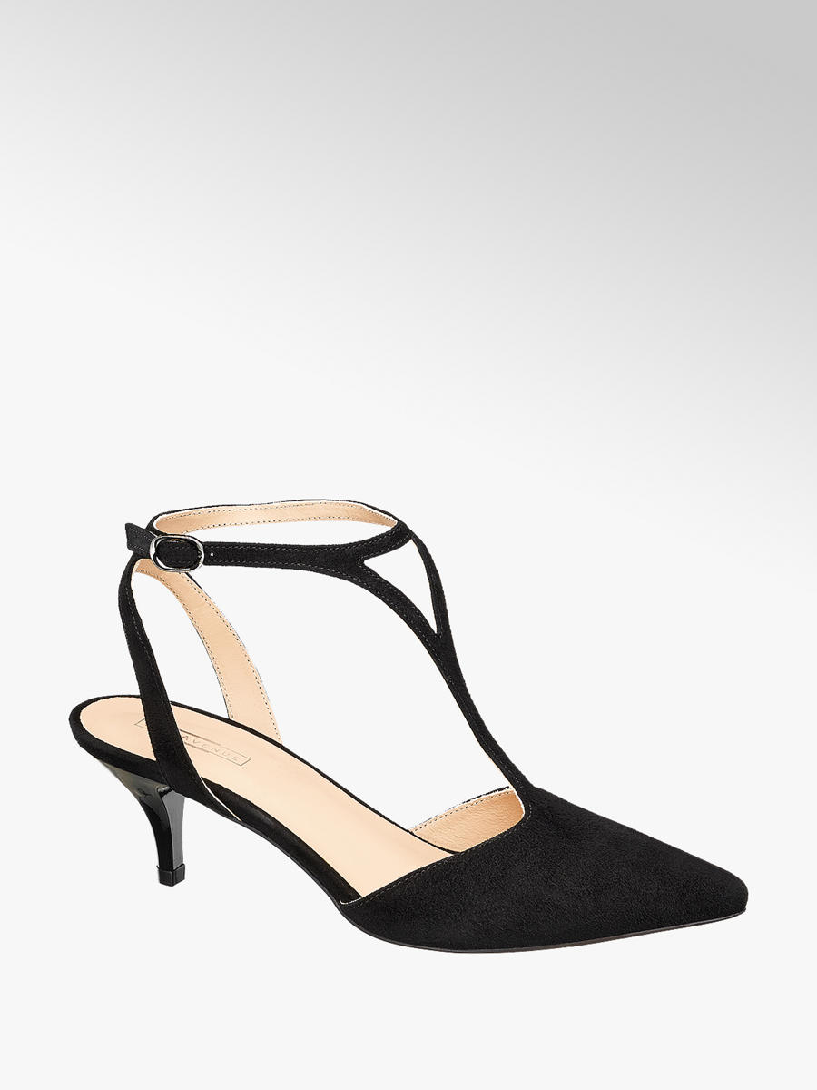 Sling Pumps von 5th Avenue in schwarz