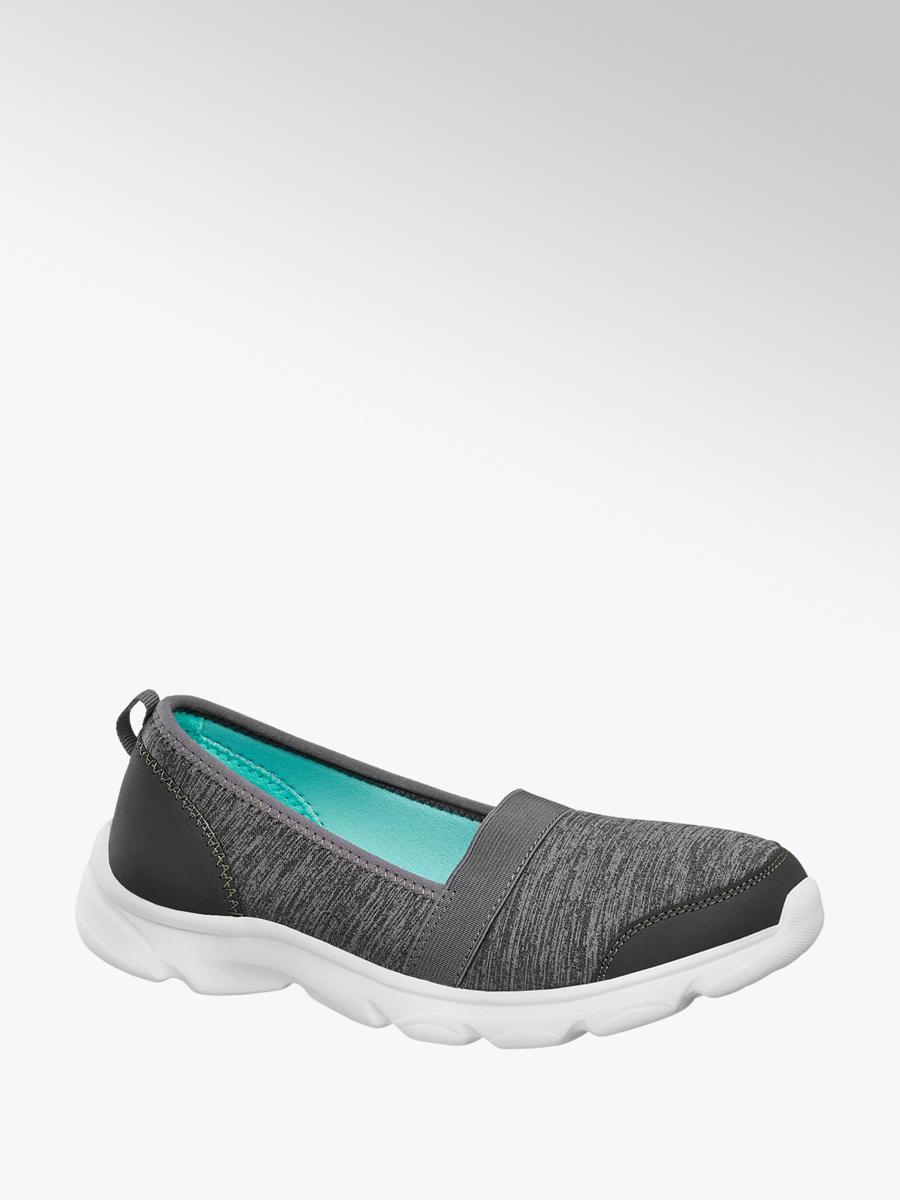Slip-on obuv značky Graceland v barvě šedá - deichmann.com 712c259032