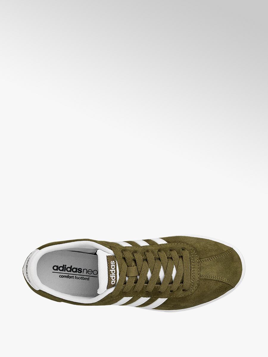 low price wholesale online cute Sneaker COURTSET W von adidas in olive - DEICHMANN