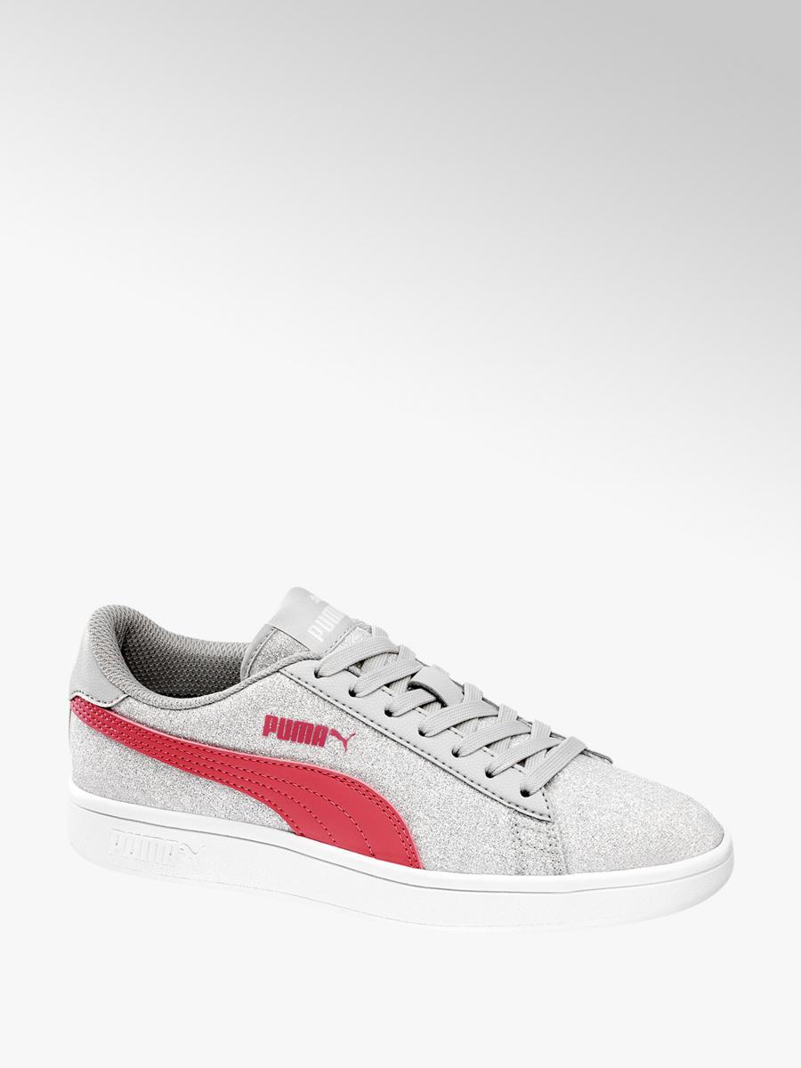 e15d0566620b Sneaker SMASH GLITTER JR von Puma in grau - DEICHMANN