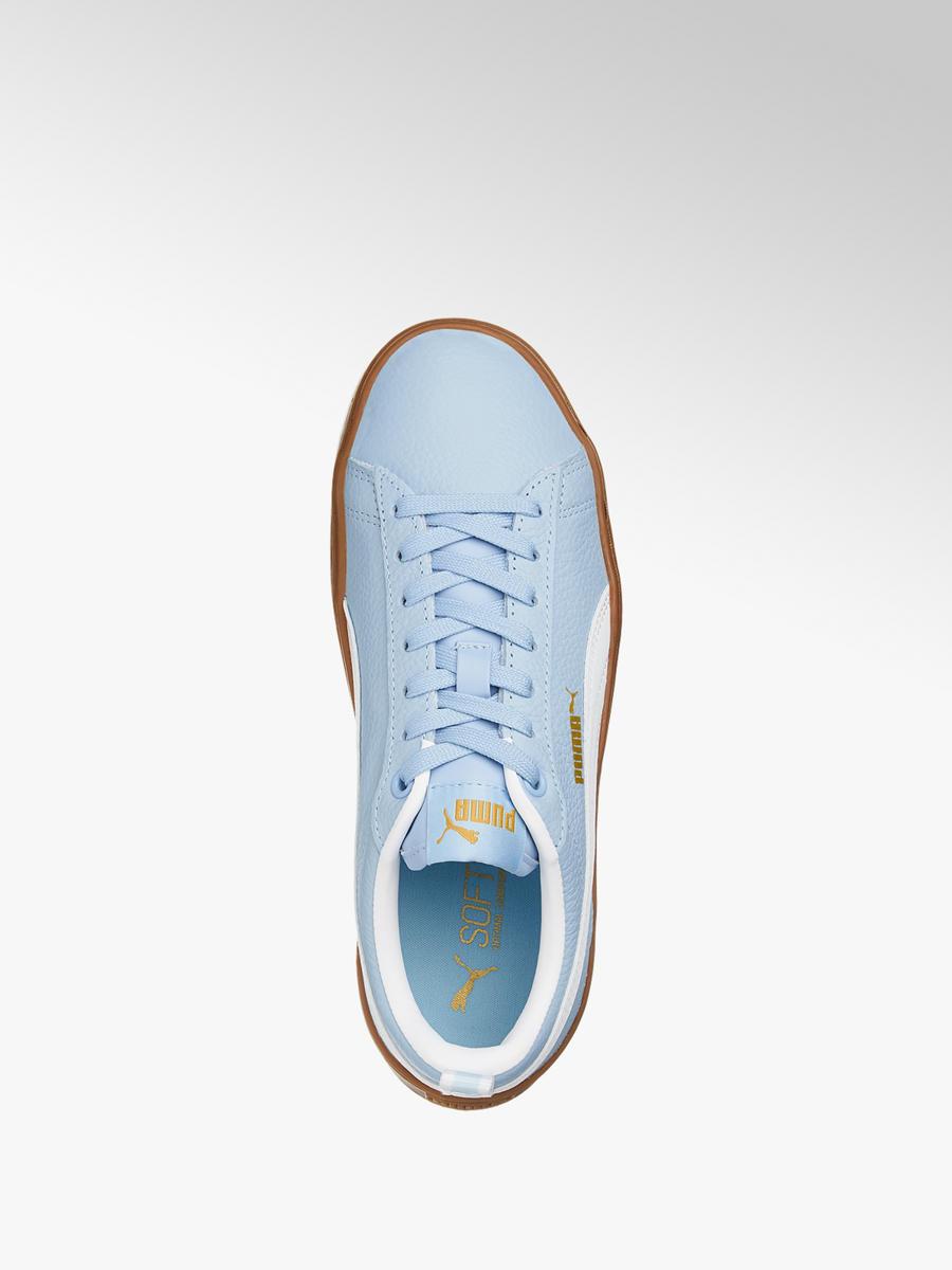 0db6bfde2c96e3 Sneaker Smash Platform Varsity von Puma in blau - DEICHMANN