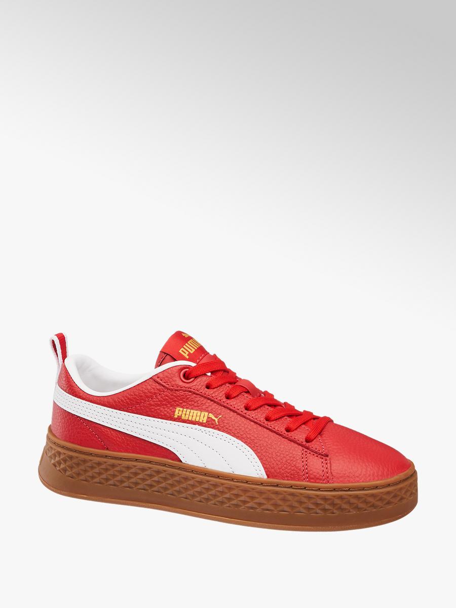 bc084c87626fdb Sneaker Smash Platform Varsity von Puma in rot - DEICHMANN