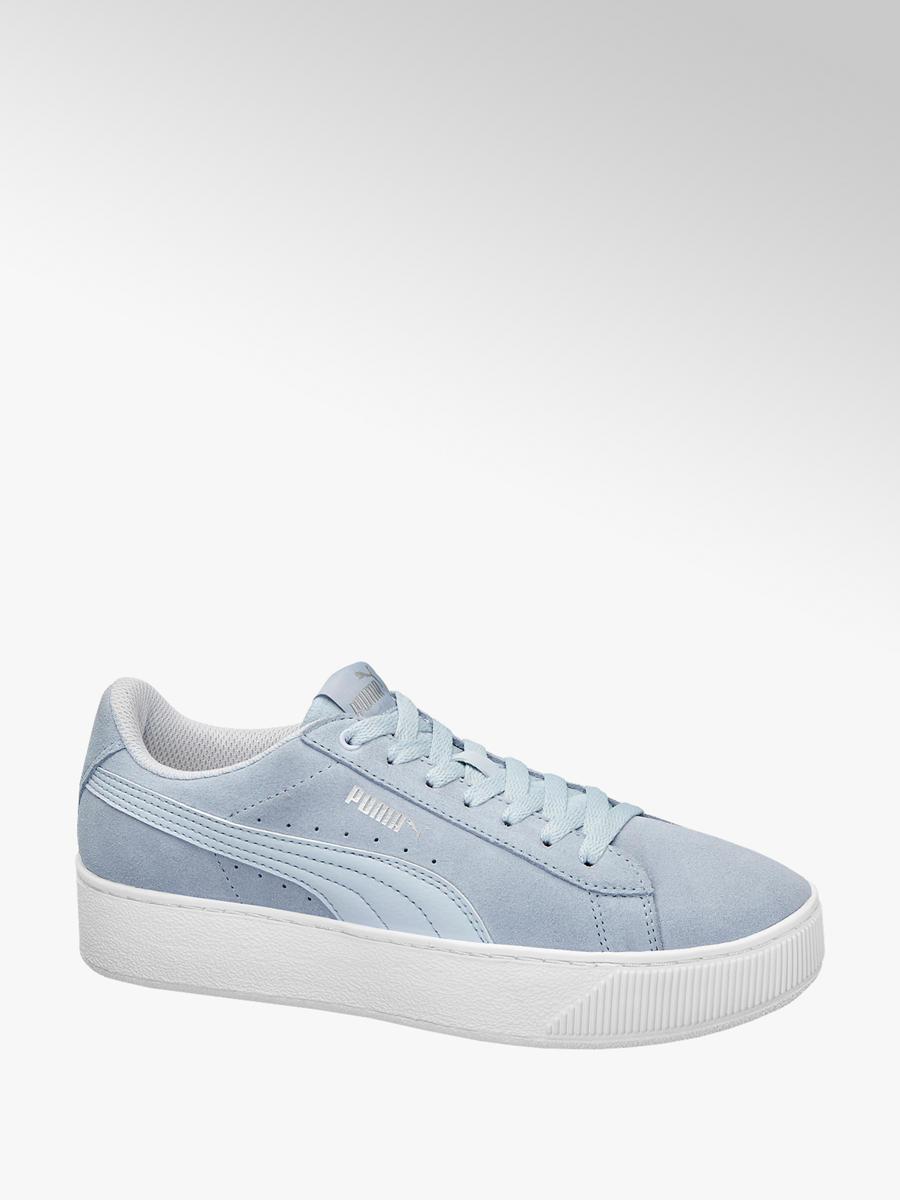db6dfec0b33f Sneaker VIKKY PLATFORM von Puma in hellblau - DEICHMANN