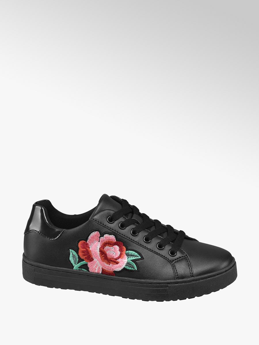 Sneaker hímzett virágmintával - Graceland  7b748645a2