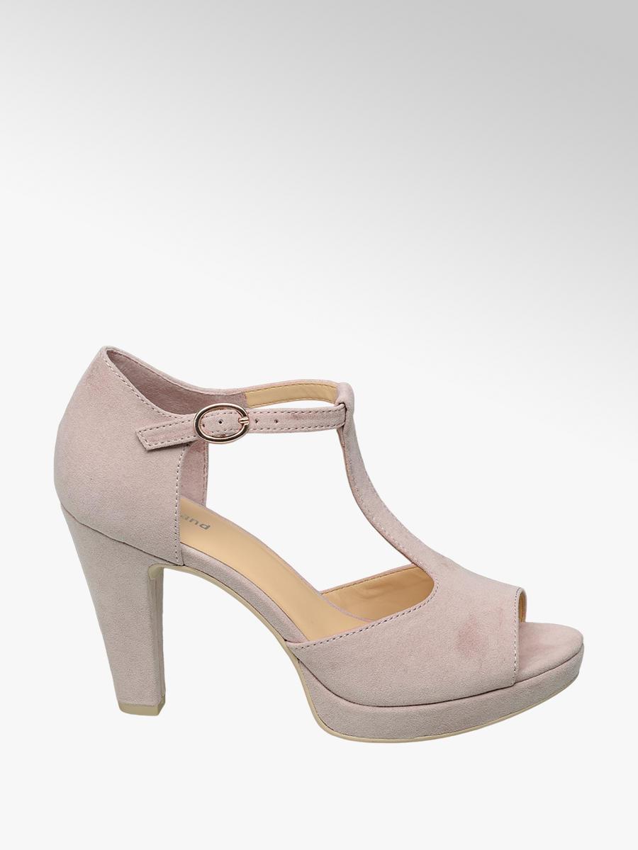 2fb1a30091 Spoločenské sandále značky Graceland vo farbe ružová - deichmann.com